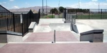 3 Diamond Skatepark - Apple Valley, California, U.S.A.