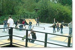 164th AVENUE SKATE COURT - Covington, Washington, U.S.A.