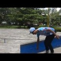 Skating Fun SMDblader at Pkk Skatepark Samarinda Ags 2013